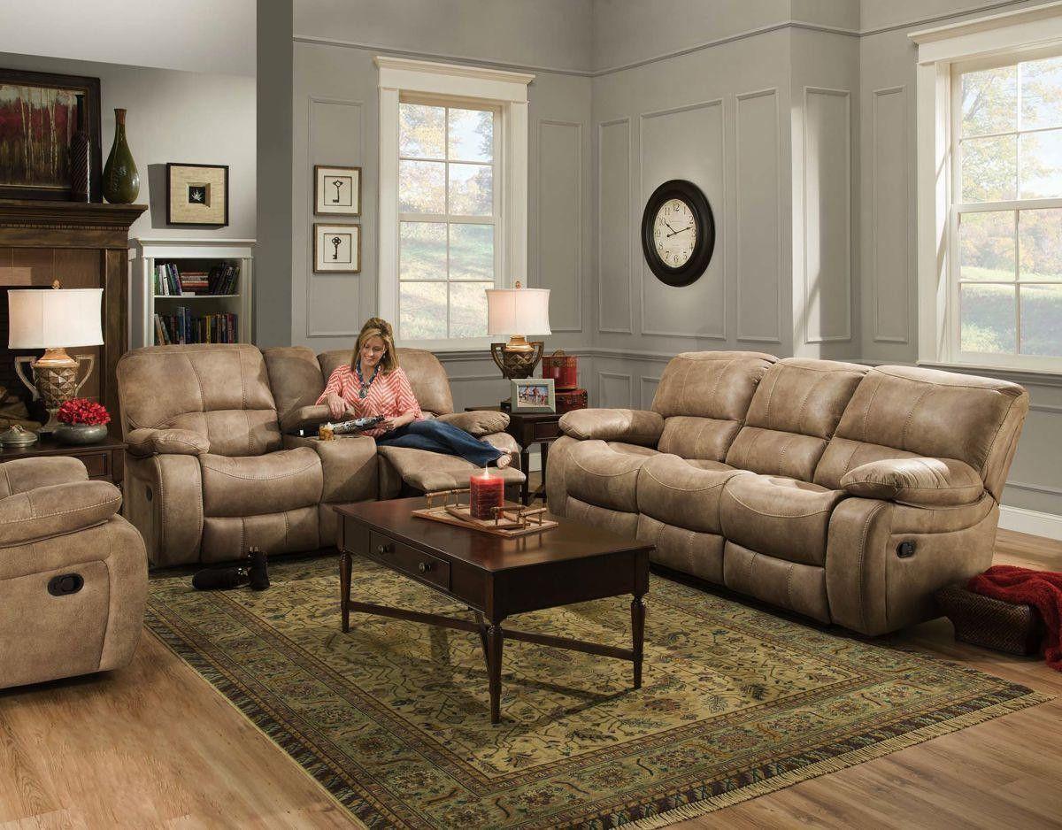 Phenomenal Corinthian 93001 Pancho Sand Reclining Sofa Loveseat Short Links Chair Design For Home Short Linksinfo