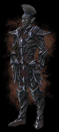I love the Dunmer medium armor in ESO  Feels like a sketchy