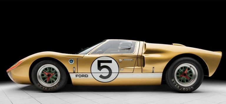 1966 Ford Gt40 Le Mans Auto Carroceria Automobilismo