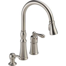 Peerless Decatur Stainless 1 Handle Pull Down Kitchen