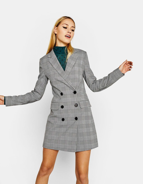 c9819baa62a3 Blazer-style crossover dress | I see it I like it | Blazer dress ...