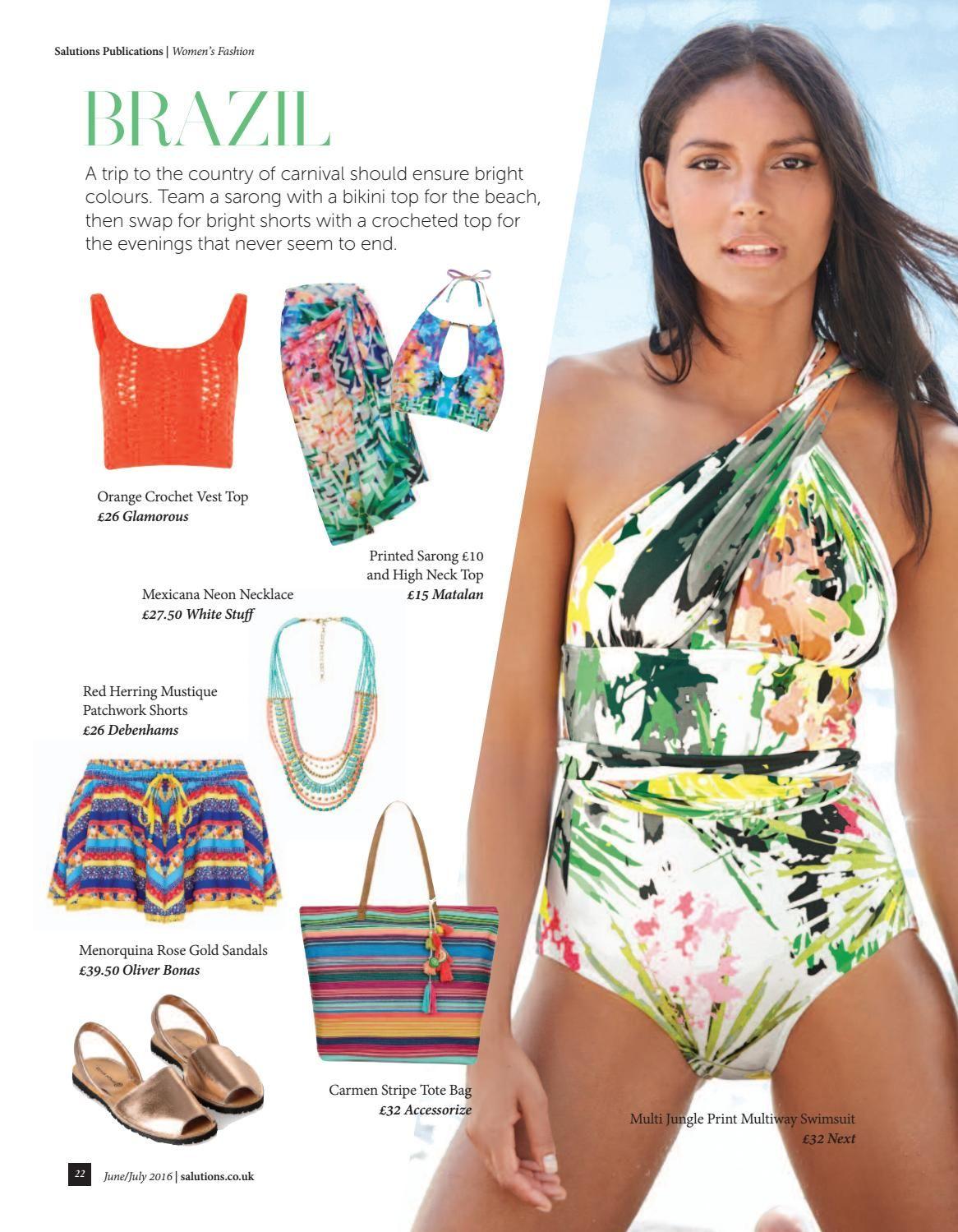 599ed6c5da Didsbury Magazine Jun   Swimwear / Lingerie   Swimwear, Lingerie ...