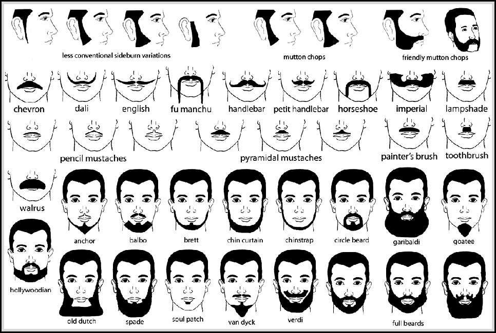 Names Of Facial Hair Styles You Need To Know Facial Hair Styles 1 Facial Hair Styles Men Facial Hair Sty Beard No Mustache Mens Facial Hair Styles Beard Names