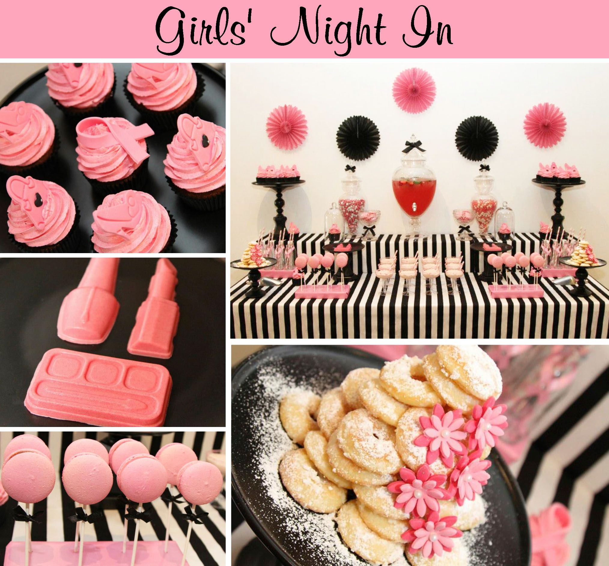 Girls Night In For Girls Night In Inspirational Board