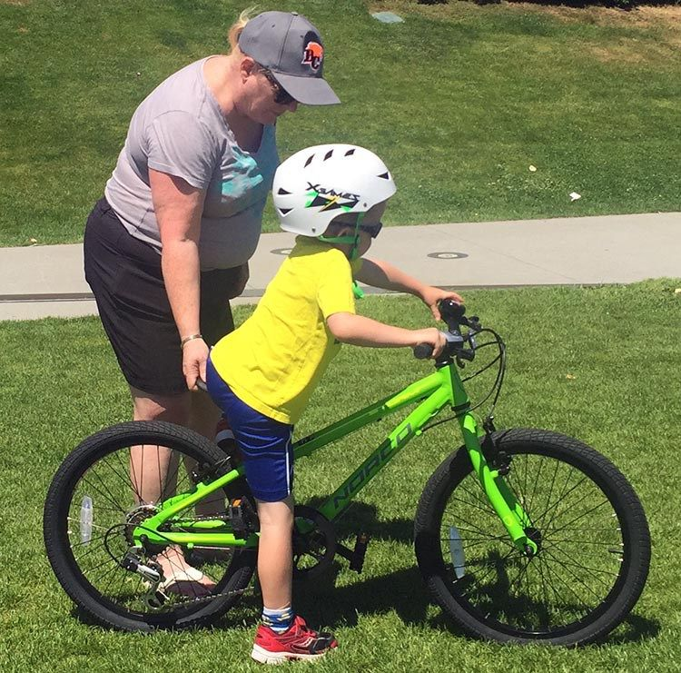 9 Simple Steps To Teach A Child To Ride A Bike Kids Cycle