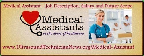 Medical Assistant  Job Description Salary And Future Scope