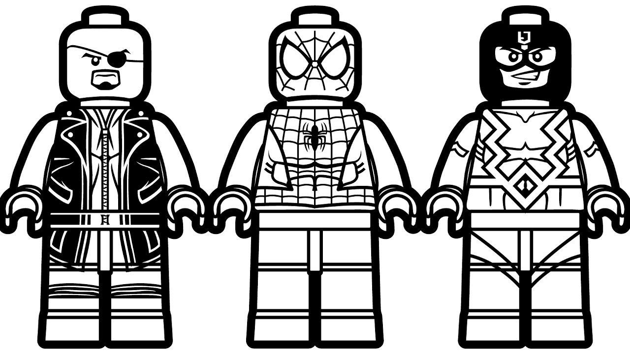 Spiderman Clipart Coloring Pages Lego Coloring Superhero Coloring Pages Lego Coloring Pages