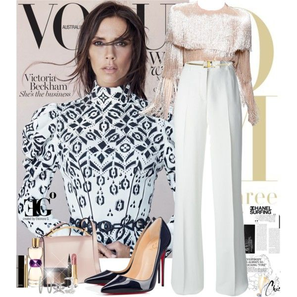 A fashion look from July 2015 featuring Emilio Pucci pants, Christian Louboutin pumps and Marni shoulder bags. Browse and shop related looks.
