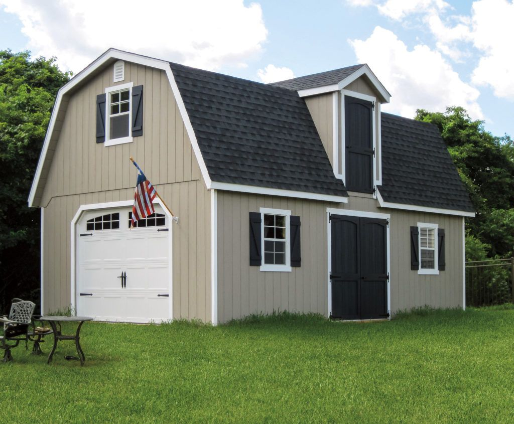 At Creative Outdoor Sheds We Offer Two Story Dutch Barn Structures With Endless Possibilities Providing All T Barns Sheds Outdoor Storage Sheds Outdoor Sheds