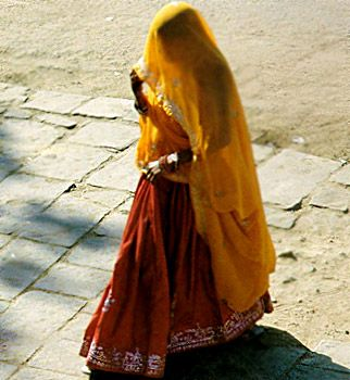 Traditional rajasthani dress