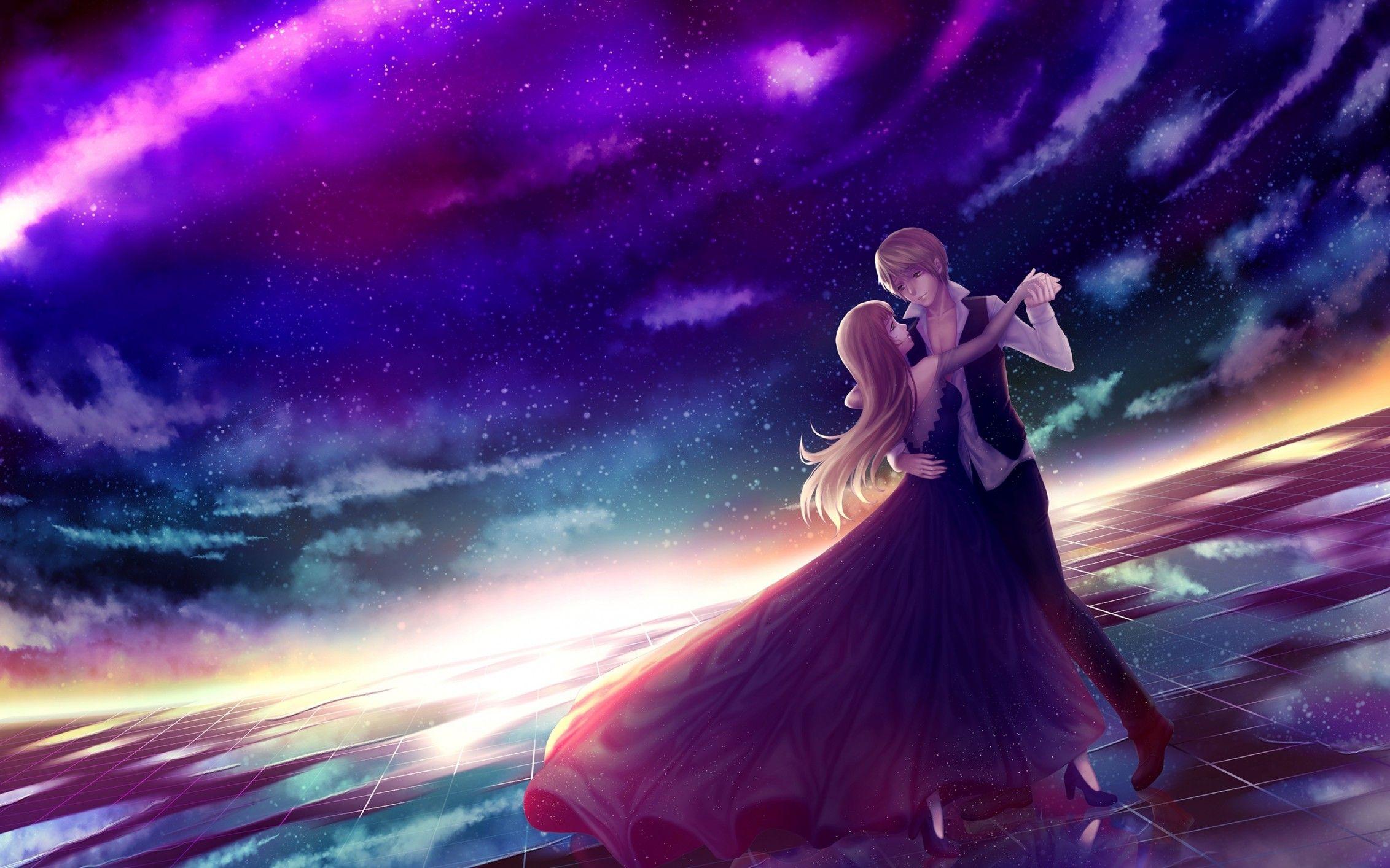 Pin On Wallpaper Download wallpaper anime couple hd