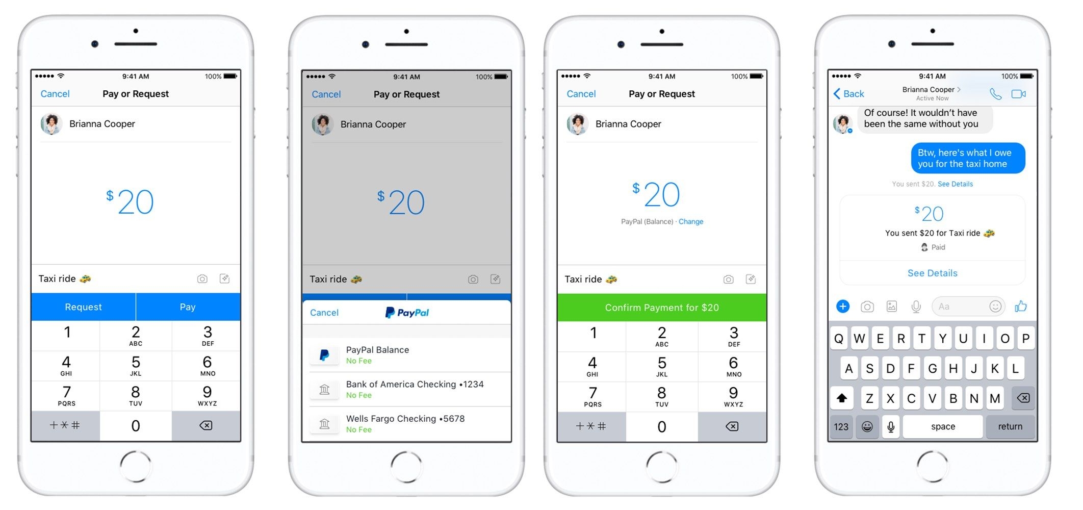 Facebook's Adding PayPal as a New Peer-to-Peer Payment
