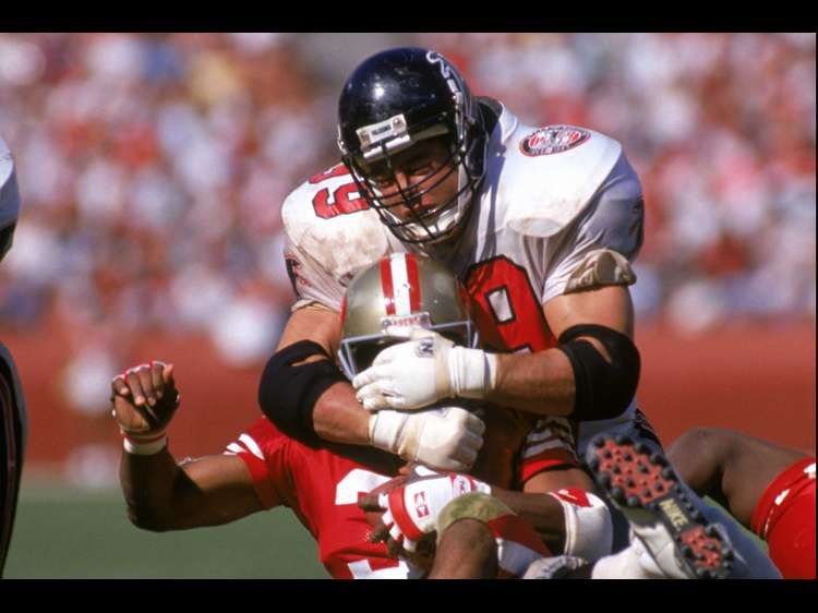 Photos Former Falcons Player Tim Green Falcons Players Green Play Photo