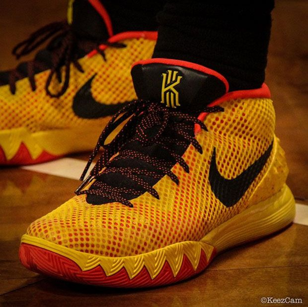 Kyrie Irving Broke Out Some Awesome Nike Kyrie 1 PEs For Media Day | Kyrie  irving, Sneaker heads and Nike basketball