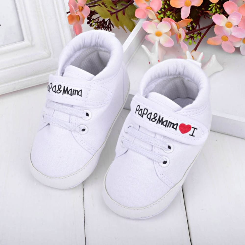 $2.90 (Buy here: http://appdeal.ru/60iw ) Baby Newborn nfant Kids Boy Girl Soft Sole Canvas Sneaker First Walker Shoes 0-18 M for just $2.90