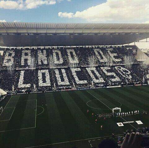 Mosaico Da Fiel Bando De Loucos 30 07 17 Corinthians V Flamengo
