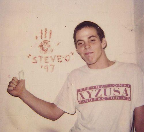 steve-o telling you the year i was born...how cute