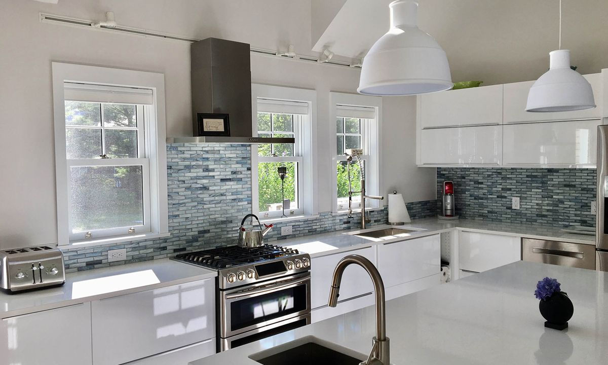 L Shaped Kitchen Designs (With images) | Kitchen ...