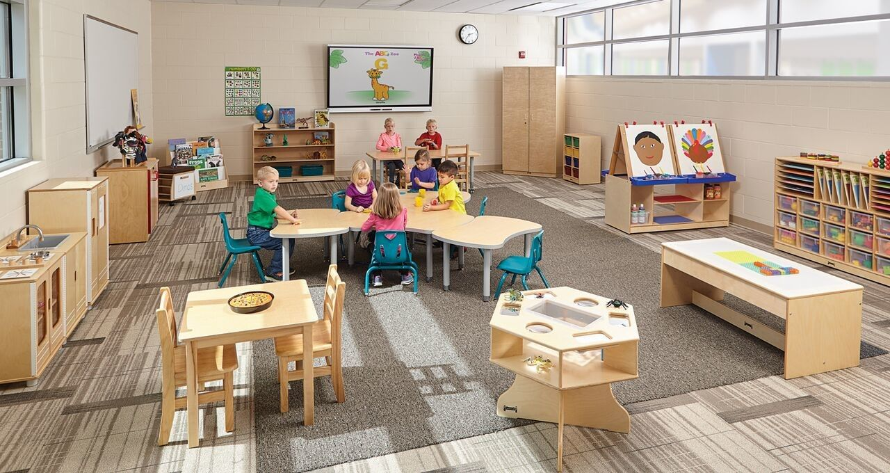 The Best Advice For Professionals Designing Pre K Classrooms Think Like A Kid Read More Classroomdesign Classroom Design Design Classroom