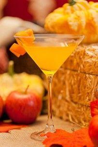 """Sweet and Spooky Creamsicle"" #Halloween Martini"