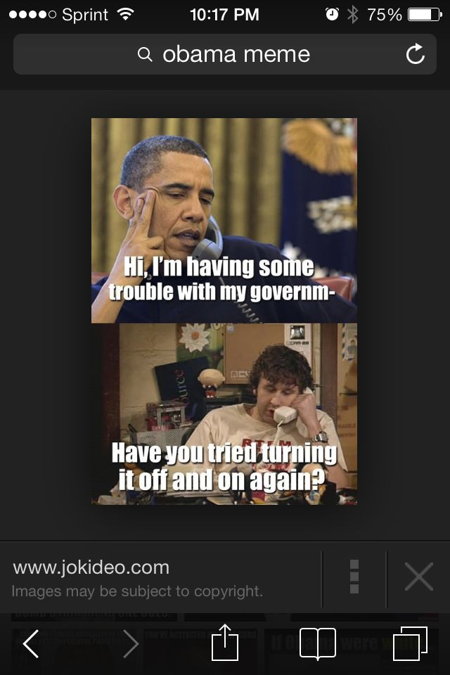 Lol Obama... He's great ^_^