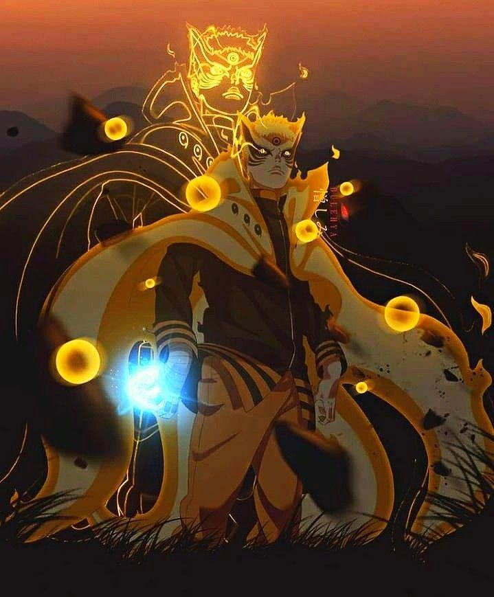 Photo of Naruto mode Baryon fan art