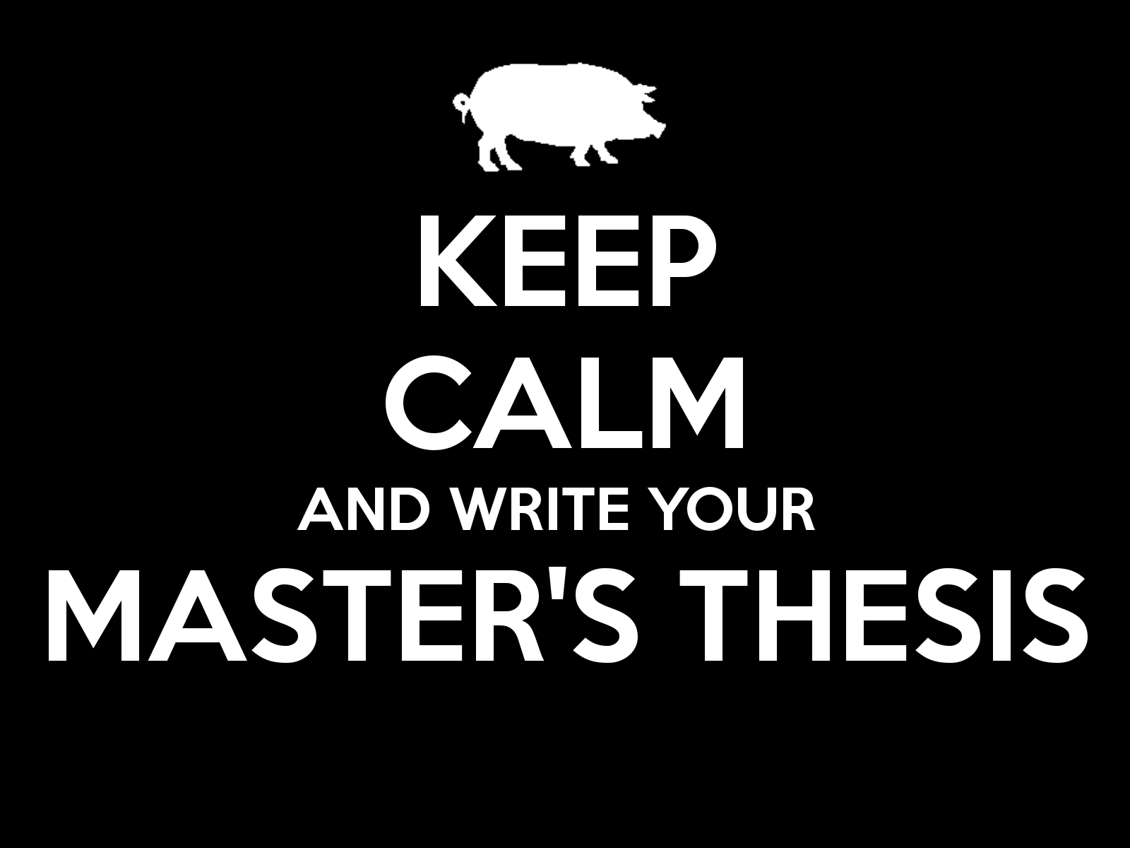 Master thesis lyrics