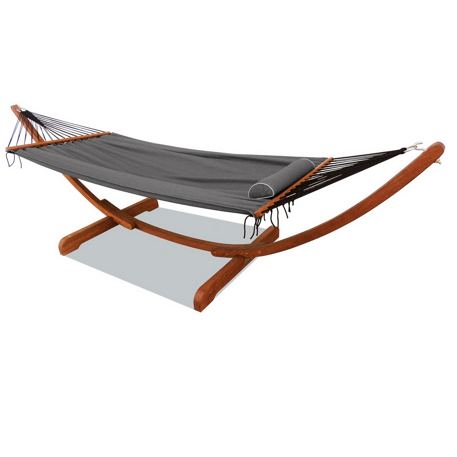 Medium image of find mimosa curved timber framed hammock at bunnings warehouse  visit your local store for the