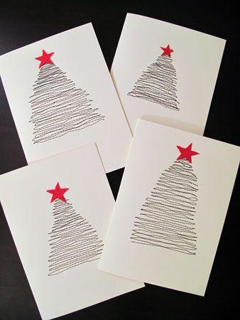 DIY Holiday Cards FESTIVE Pinterest Diy holiday cards