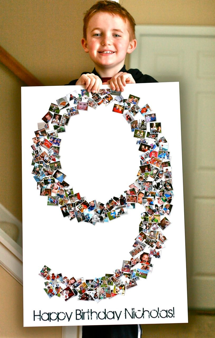 Birthday Collage Poster Shape Collage Blog Birthday Collage Birthday Poster Birthday Poster For Friend