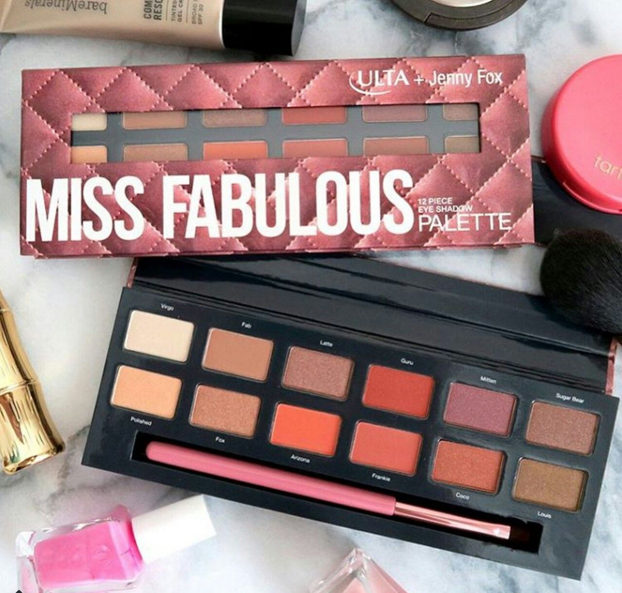 Ulta Miss Fabulous Palette Dupe To Anastasia Modern Renaissance Kc