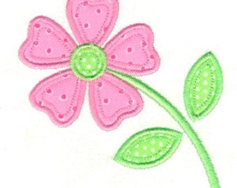 Applique flower flower applique flower embroidery spring