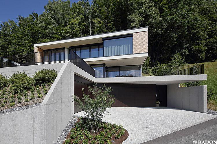 Hanghäuser Modern aicher zt gmbh schruns norman radon radon photography