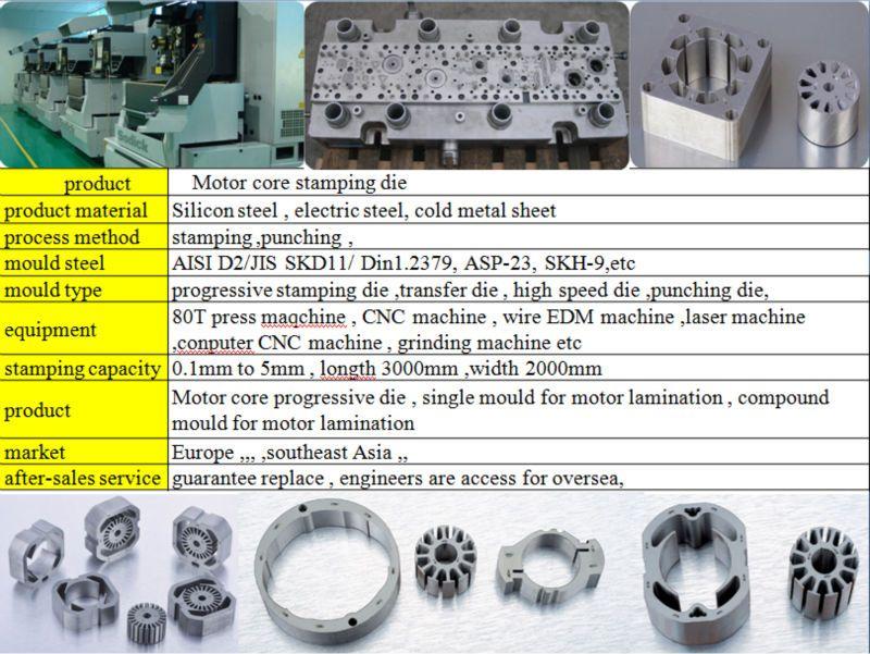 Motor stator rotor stamping mould manufacturer ,foshan shy motor