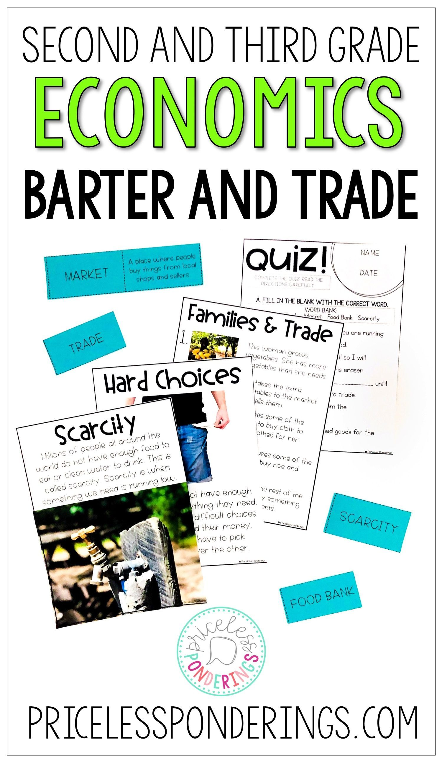 hight resolution of Economics Barter and Trade Activities   Economics lessons