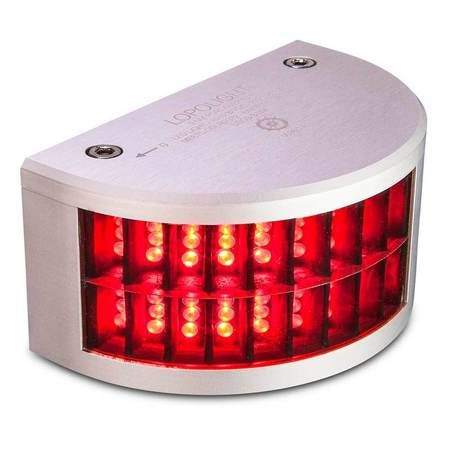 Lopolight 300-102 Red Port Sidelight 3Nm