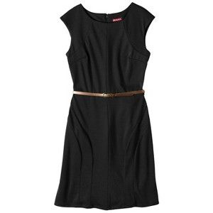@Laura Nelson This dress got all positive reviews on targets website. It also comes in red and green. LBD for Kelly's wedding?  Merona® Women's A-Line Ponte Dress - $27.99