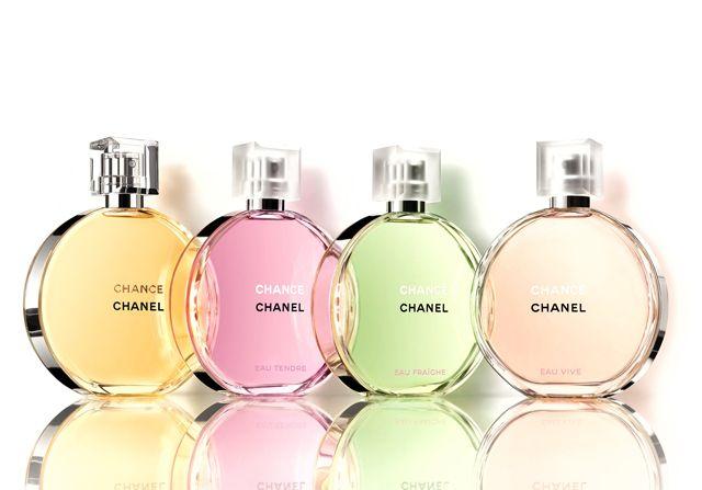 Chanel Unveils New Chance Eau Vive Fragrance Product Photography