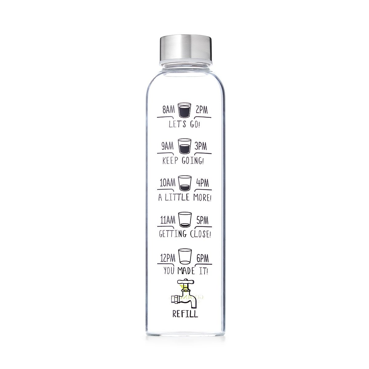 Drink More Water Bottle