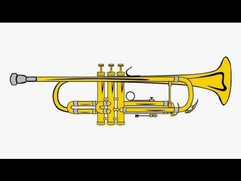 Trumpet fanfare sound effect (music bite) - YouTube