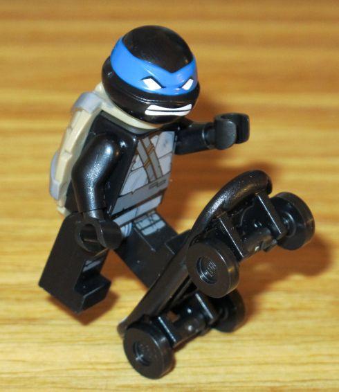 Lego black ninja lego teenage mutant black ninja turtles - Tortue ninja skateboard ...