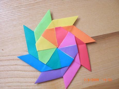 Origami Magic Star