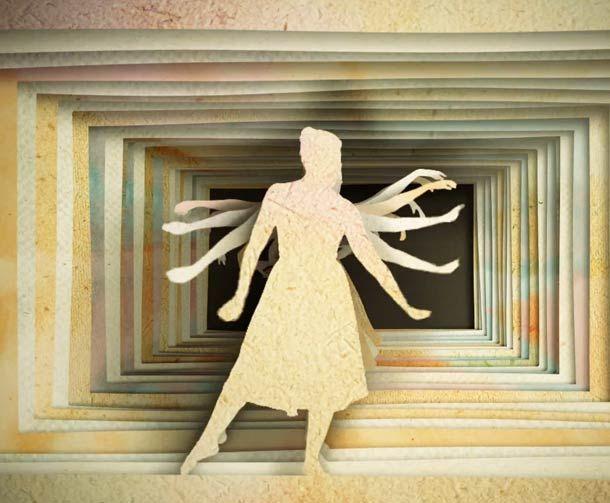 Ballerina Paper And Stop Motion Short Film Kreative Ideen
