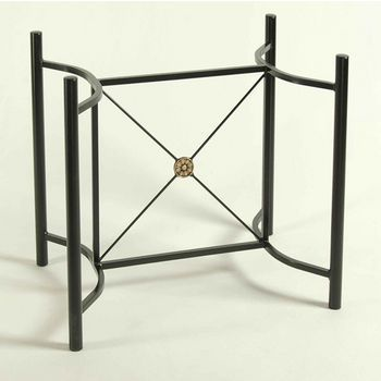 Table Bases Dining In Heavy Gauge Steel Or Wrought Iron Kitchensource