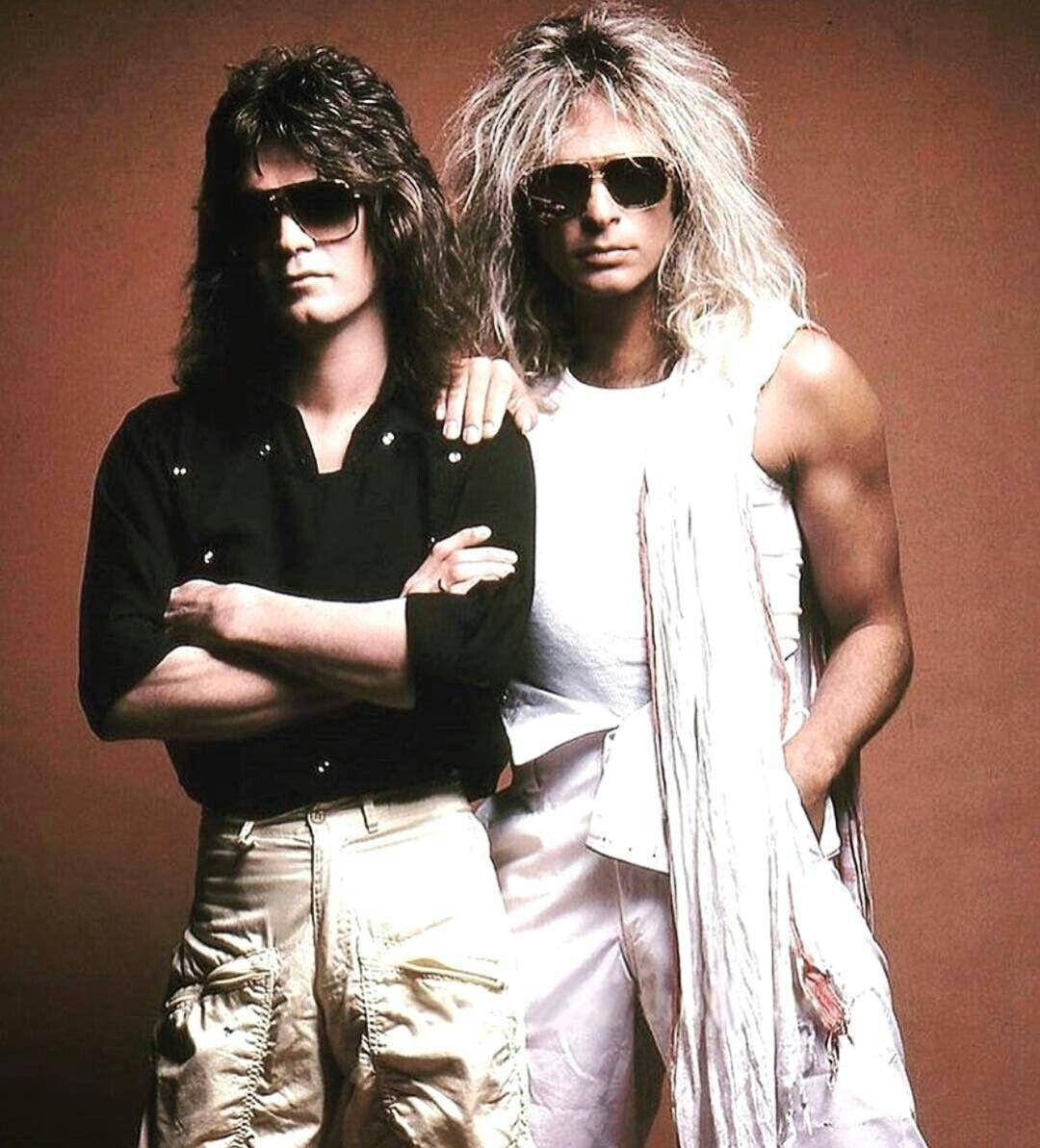 Eddie David Vanhalen Van Halen David Lee Roth Greatest Rock Bands