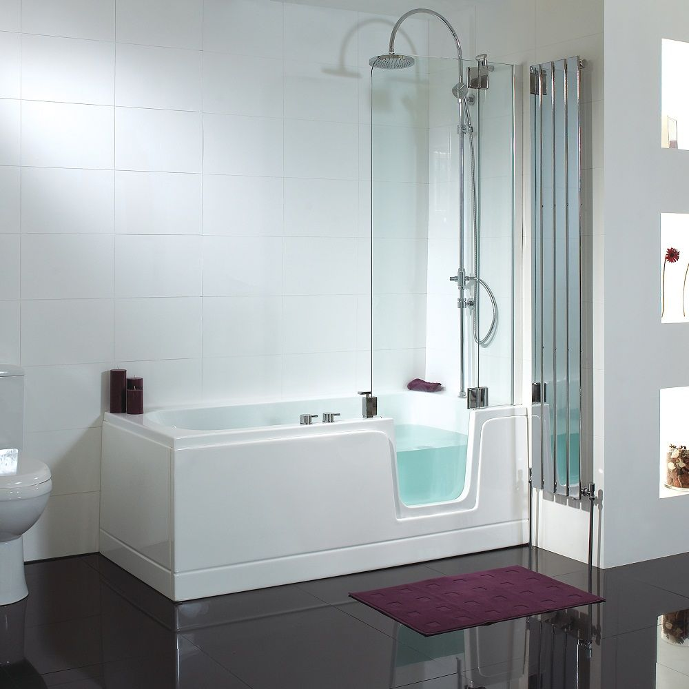Comfort Walk-In Bath- saves space | Home Sweet Home | Pinterest ...