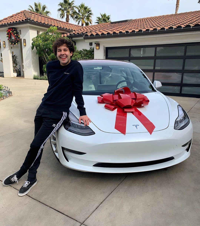 David Dobrik Tesla Giveaway Sweepstakes 2019 Win Tesla