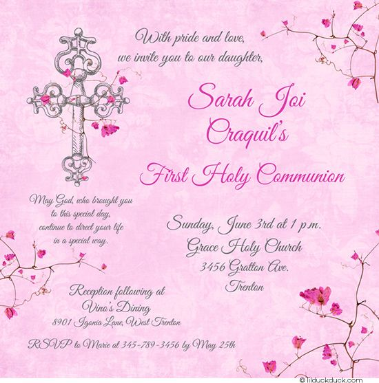 pin on first holy communion cards