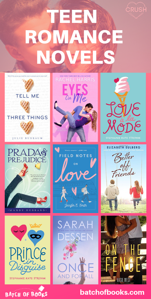 Best Funny Clean 17 Swoon-Worthy YA Romance Books for Teens - Batch of Books So many cute romance books for teens! Romance books for young adults.  Romance books to read. Contemporary romance novels for teenagers.  Contemporary YA romance novels. Clean romance novels for teens. Funny  romance books to read in 2019. Clean romantic books for teens. |  batchofbooks.com #romancebooks #YAlit #YAromance 7