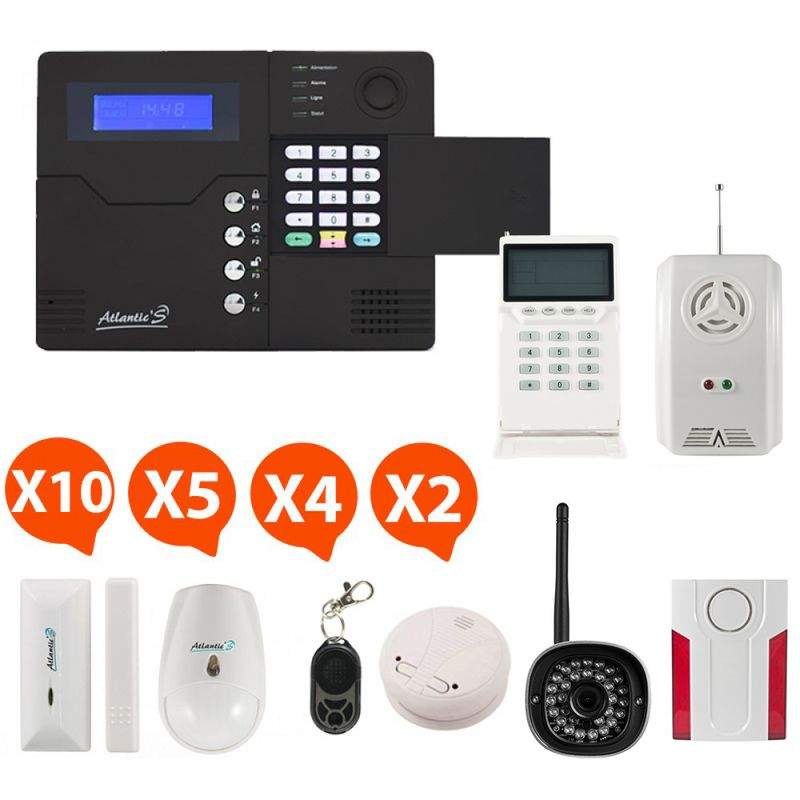 Alarme GSM Atlantic\u0027S ST-V Kit mixte 01